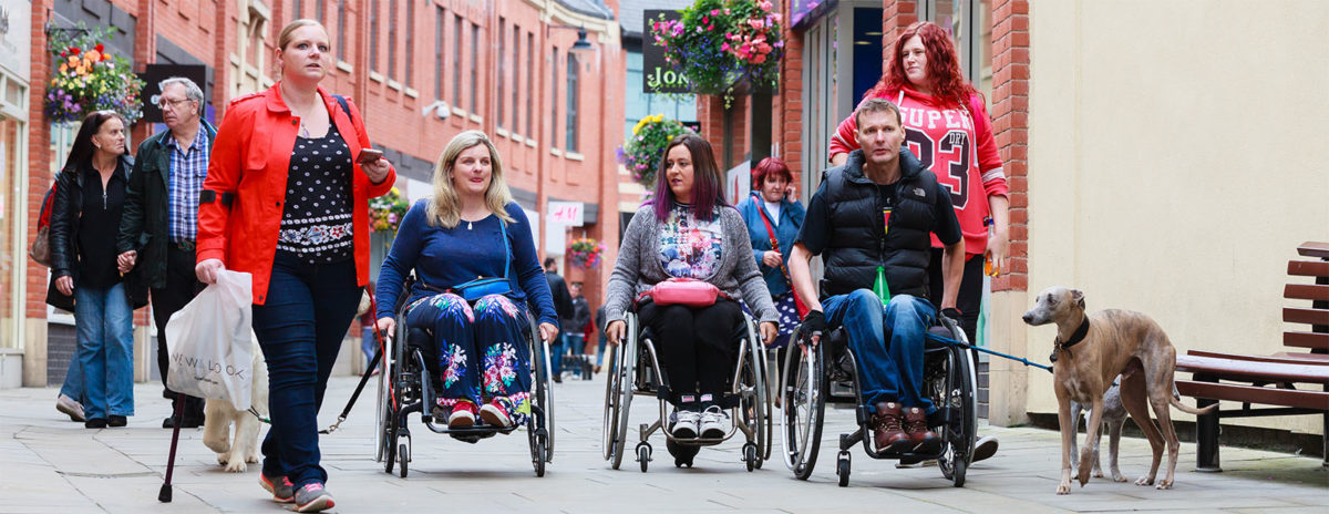 Difference - fighting for equal rights for disabled people in North East England