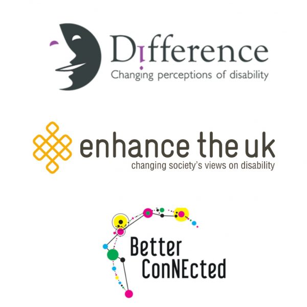This image combines the three logos of Difference, Enhance the UK and Better Connected.